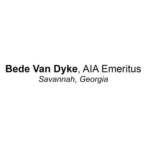 Bede Van Dyke, AIA Emeritus